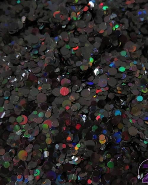Flitter mix - Holo fekete 0,6g (CN22)