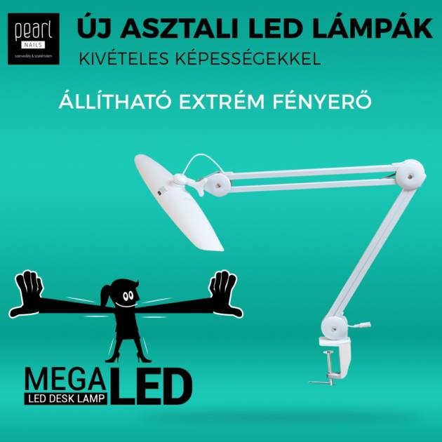 Pearl - MegaLED asztali lámpa