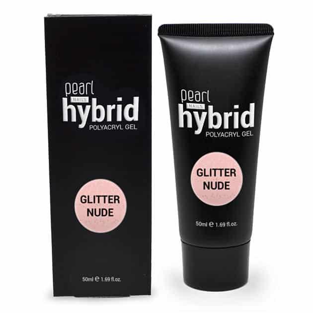 Pearl - hybrid PolyAcryl Gel - Glitter Nude